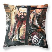 Zombies Attack Throw Pillow