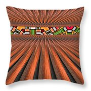 Zoned Throw Pillow