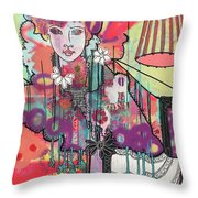 Zoni.girl Du Jour Throw Pillow