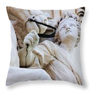 Zoom For Details Throw Pillow