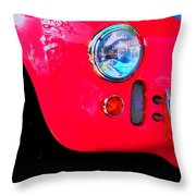 Zoom'n Throw Pillow