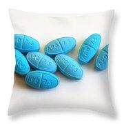 Zopiclone Sleeping Pills Throw Pillow