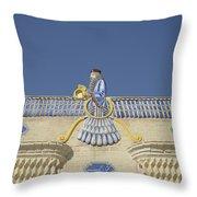 Zorastrian Fire Temple, Iran Throw Pillow