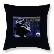 Zoulou Emperor Throw Pillow