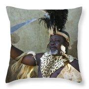 Zulu Pride Throw Pillow