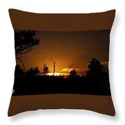 Zuni Mountain Gold  Throw Pillow