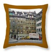 Zurich Switzerland Throw Pillow