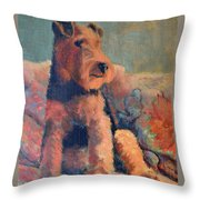 Zuzu Throw Pillow