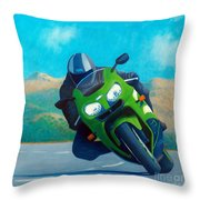 Zx9 - California Dreaming Throw Pillow