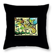 Zxany 08 Throw Pillow