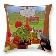 021 By The Sea Throw Pillow