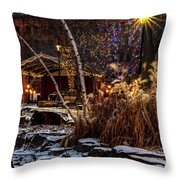 033 - Mears In Winter Throw Pillow