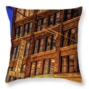 072 - Jax Building Throw Pillow