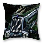 1930's Talbot Lago T23 Race Car Throw Pillow