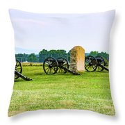 4th United States Artillery Throw Pillow