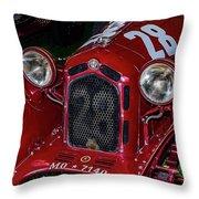 A 1930 Alfa Romeo 6c 1750 Gs  Throw Pillow