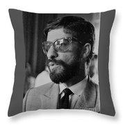 a Cuban man Throw Pillow