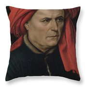 A Man  Throw Pillow