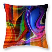 Abstract #35 Throw Pillow
