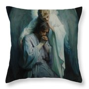 Agony In The Garden, Schwartz Throw Pillow