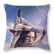 Alita Battle Angel Throw Pillow