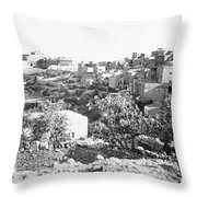 Bethlehem 19th Century Throw Pillow
