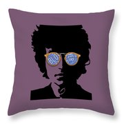 Blowin In The Wind Bob Dylan Throw Pillow