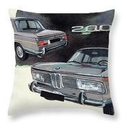 Bmw 2000 Throw Pillow