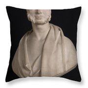 Bust Portrait Of Wynn Ellis Mp  Throw Pillow