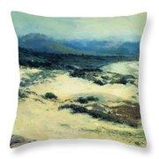 Carmel Shore 1919  Throw Pillow