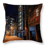 Chicago Nights Throw Pillow