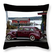 Classic Coupeville Throw Pillow