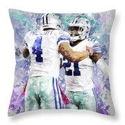 Dallas Cowboys. Throw Pillow