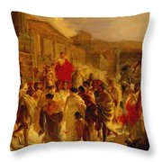 Death Of Virginia Study  Throw Pillow