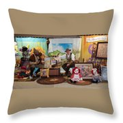 Doctor Jay And The Guardians Of Time Throw Pillow