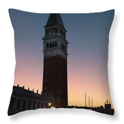 Edge Of The Night Throw Pillow