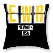 Ewr Newark New Jersey Usa Airport Code Digital Art By Hope And Hobby