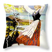 Finland Throw Pillow