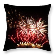 Firework Display Throw Pillow