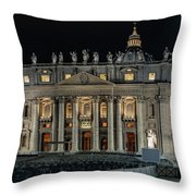 Formal Walk Throw Pillow