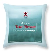 Free Study Abroad Consultant Throw Pillow