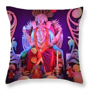 Ganesha3 Throw Pillow