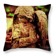 Garden Grace Throw Pillow