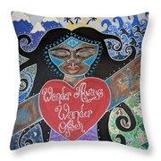Goddess Of Wonder Throw Pillow