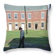 Guard Duty Throw Pillow