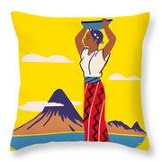 Guatemala Throw Pillow