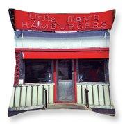 Hackensack, Nj -  Burger Joint 2018 #2 Throw Pillow