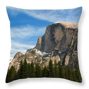 Half Dome, Yosemite National Park Throw Pillow