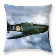 Hawker Hurricane, Wwii Throw Pillow