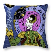 Incal Throw Pillow